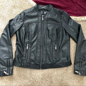 Jou Jou leather jacket size medium